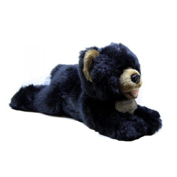 عروسک پولیشی خرس سیاه طبیعی