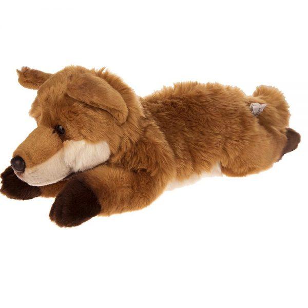 عروسک پولیشی طبیعی روباه
