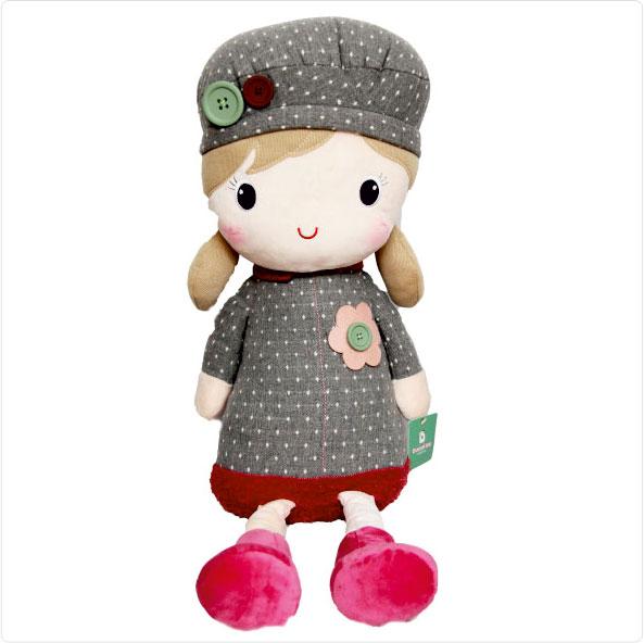 عروسک پولیشی دختر کلاهدار