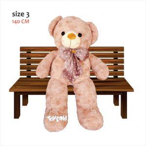 عروسک خرس بزرگ RUSS سایز 140 سانتی