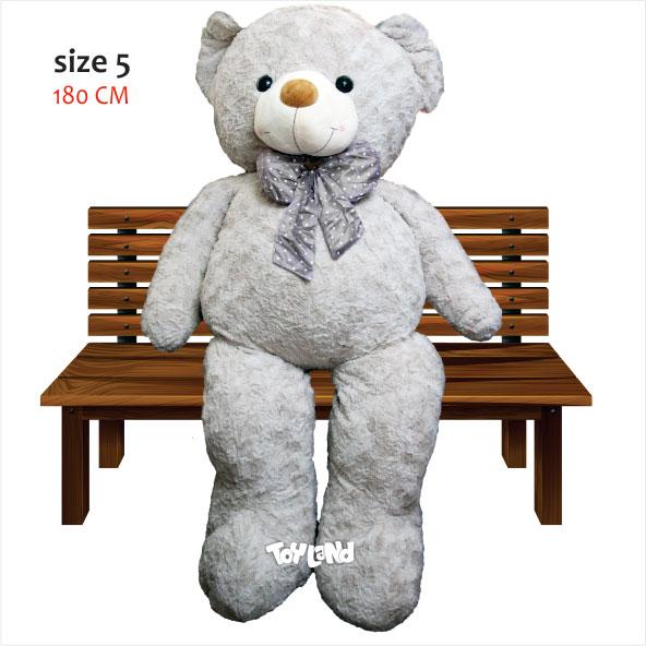 عروسک خرس بزرگ RUSS سایز 5 2متری
