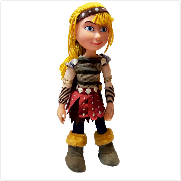 عروسک شخصیت کارتونی آسترید