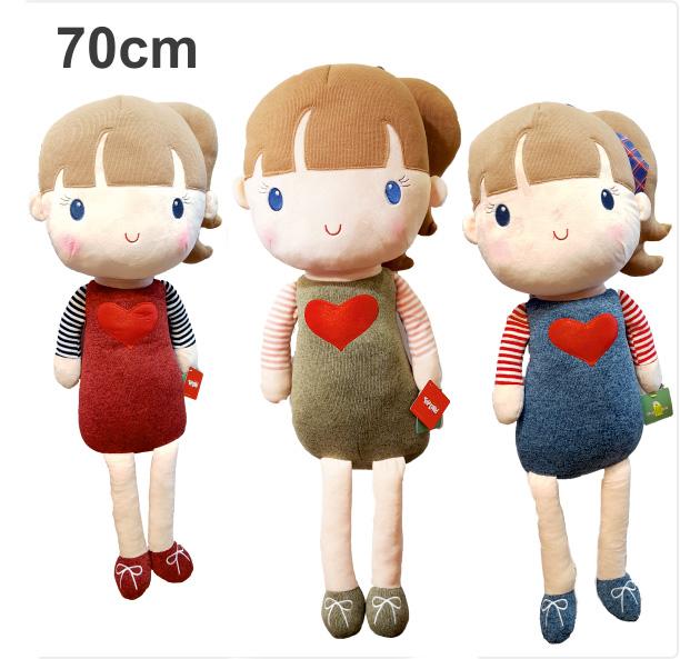 عروسک پولیشی دختر قلبی