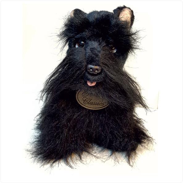 عروسگ پولیشی سگ تریر نژاد اسکاتلندی