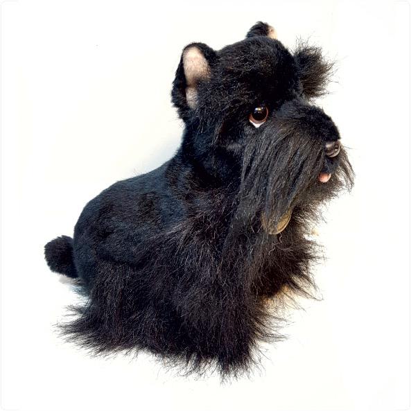 عروسک پولیشی سگ تریر
