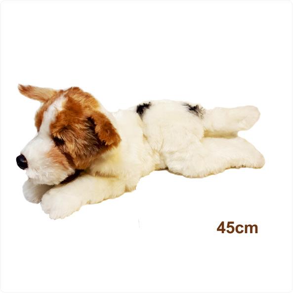 عروسک سگ تریر جک راسل