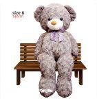 عروسک خرس بزرگ دو و نیم متری راس