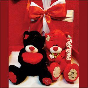 عروسک خرس دختر و پسر ولنتاین