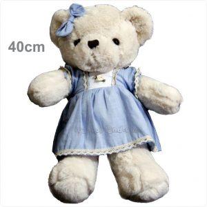 عروسک پولیشی خرس لباسدار