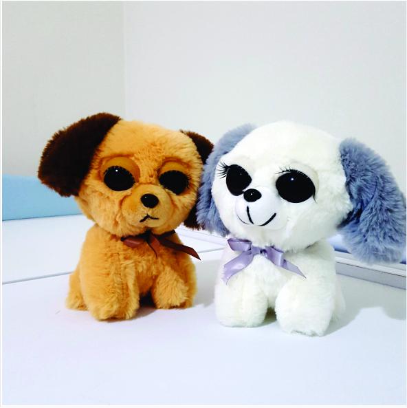 عروسک پولیشی سگ مژه دار