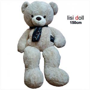 عروسک خرس شالگردن دار 150 سانتی