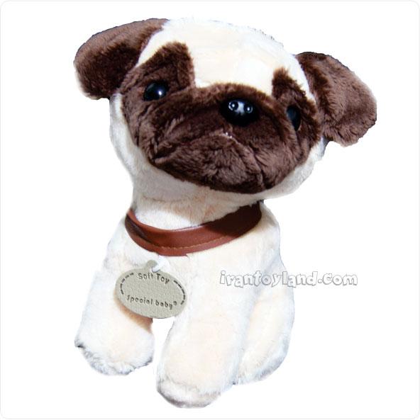 عروسک پولیشی سگ نشسته پاگ