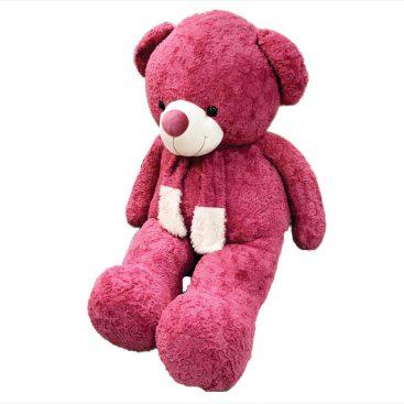 عروسک خرس ولنتاین سرخابی 2 متری