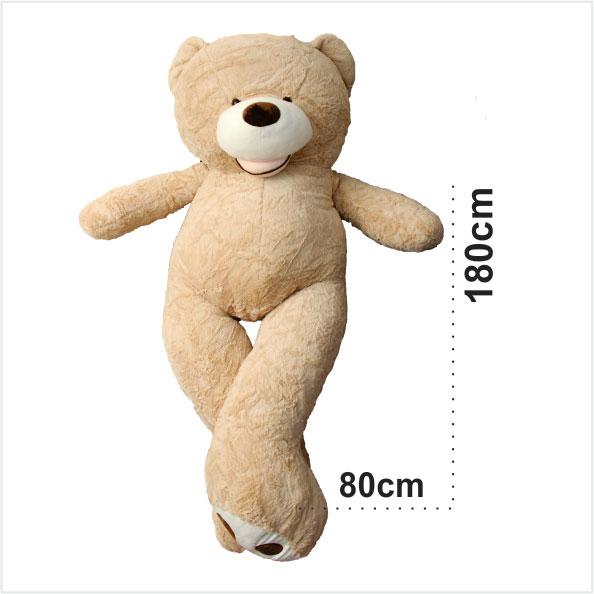 عروسک خرس بزرگ 2 متری گیزلی