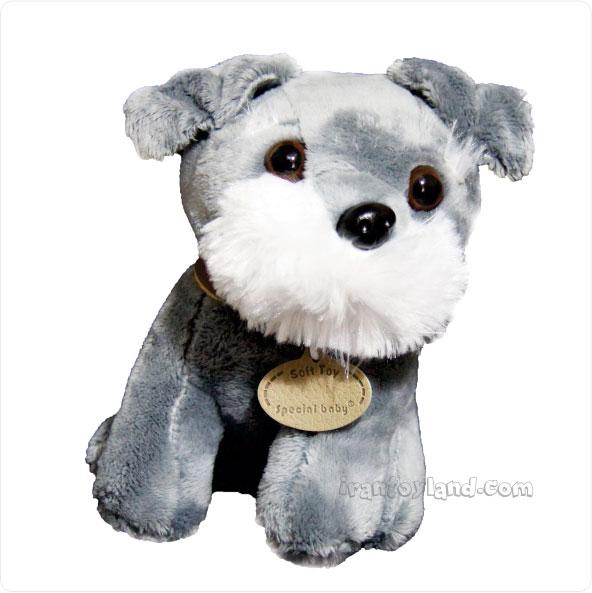 عروسک پولیشی سگ نشسته تریر