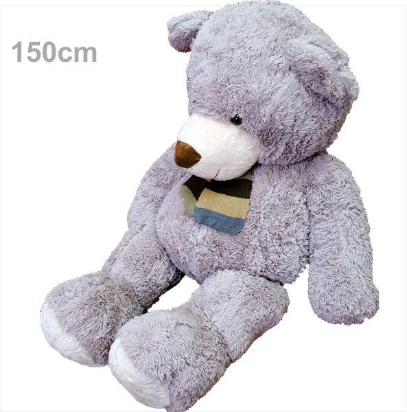 عروسک خرس آمریکایی شالگردنی