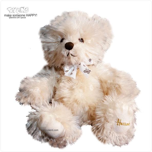 عروسک پولیشی خرس ولنتاین مو بلند