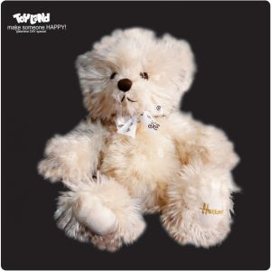 عروسک خرس ولنتاین مو بلند