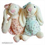 عروسک پولیشی خرگوش جلی کت لباسدار