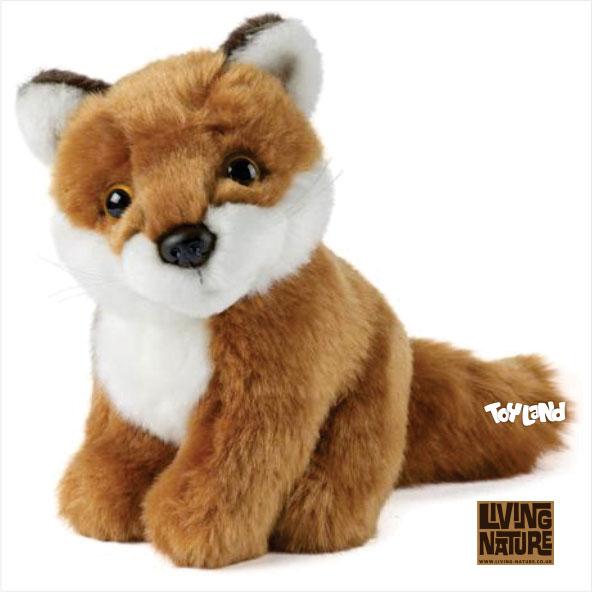 عروسک پولیشی روباه قرمز نشسته