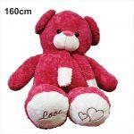 عروسک خرس بزرگ قرمز ولنتاین russعروسک خرس بزرگ قرمز ولنتاین russ