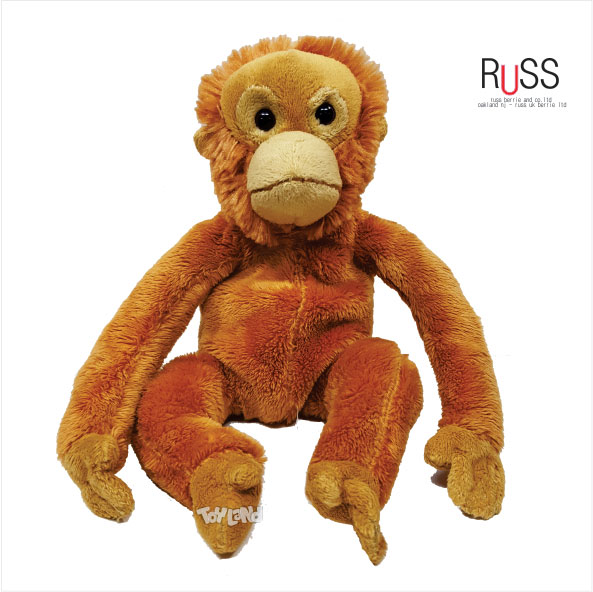 عروسک پولیشی میمون طبیعی تانگا