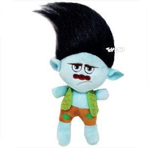 عروسک شخصیت کارتونی ترول مو مشکی