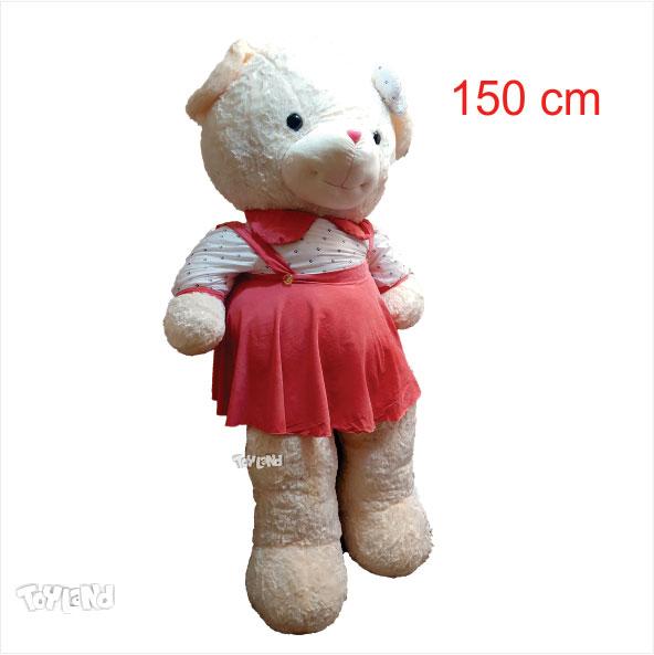 عروسک خرس لباسدار دخترانه