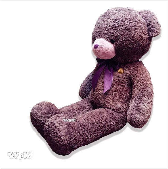 عروسک خرس بزرگ بنفش کاپیتان مورگان
