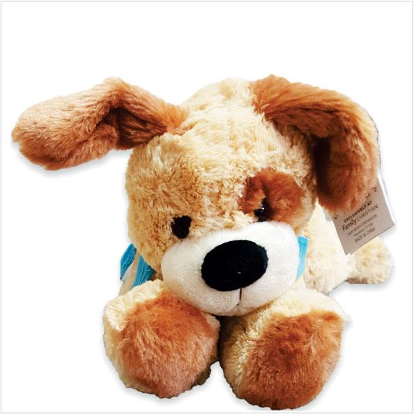 عروسک پولیشی سگ درازکش family