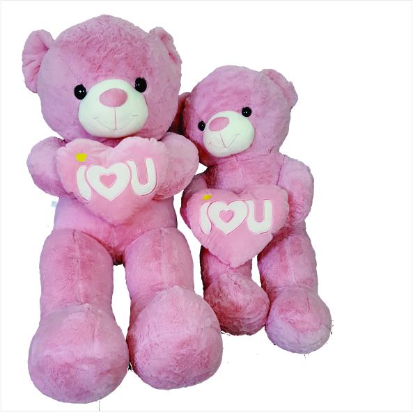 عروسک خرس قلب بدست ولنتاین