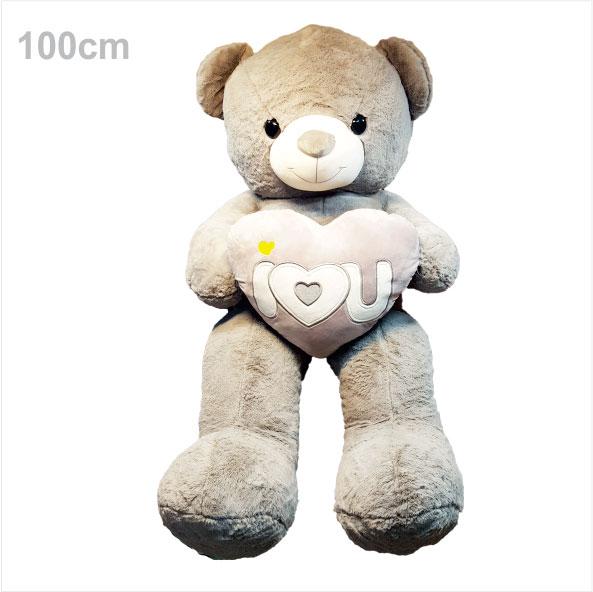 عروسک خرس ولنتاین فلب بدست طوسی