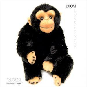 عروسک حیوانات طبیعی میمون شامپانزه