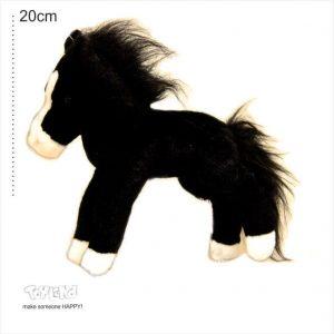 عروسک حیوانات طبیعی اسب ابلق