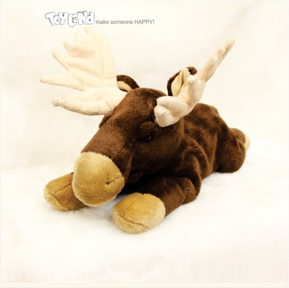 عروسک حیوانات طبیعی گوزن شمالی کاریبوی