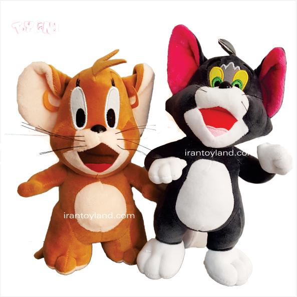 عروسک شخصیت کارتونی تام و جری