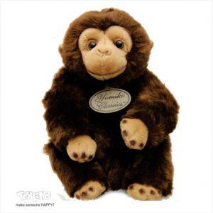 عروسک حیوانات طبیعی شامپانزه