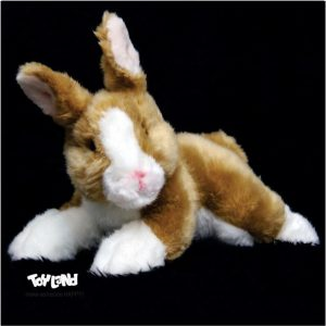 عروسک حیوانات طبیعی خرگوش طلایی