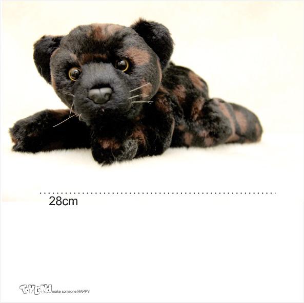 عروسک حیوانات طبیعی پلنگ سیاه جگوار