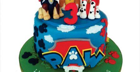 عروسک کیک تولد فیگور شخصیت کارتونی