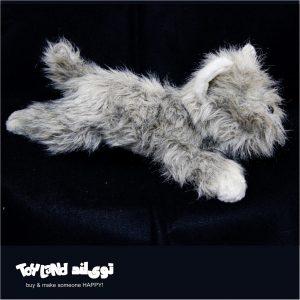 عروسک حیوانات طبیعی سگ تریر کایرن