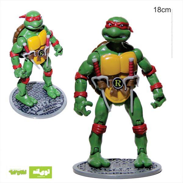 فیگور شخصیت کارتونی لاکپشتهای نینجا رافائل raphael