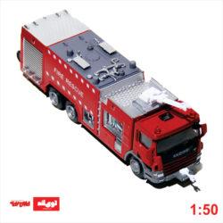 ماکت ماشین آتشنشانی آبپاش