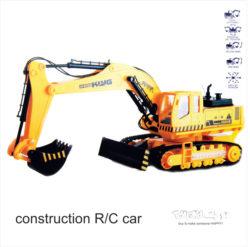 اسباب بازی کنترلی ماشین راهسازی بیل مکانیکی