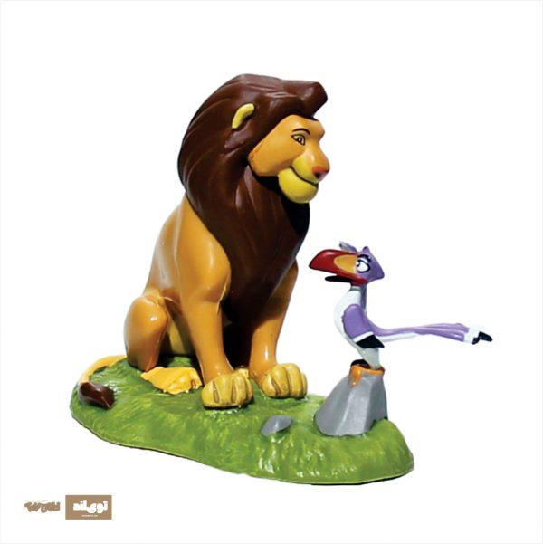فیگور شخصیت کارتونی شیر شاه