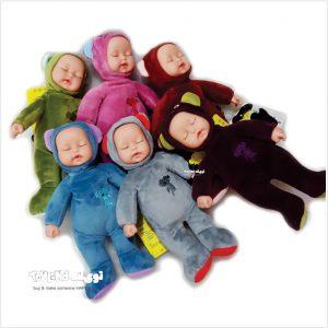 عروسک پولیشی نوزادی خرسی لاکی بیبی