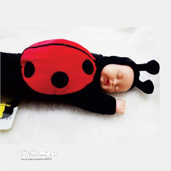 عروسک پولیشی نوزادی کفشدوزکی لاکی بیبی