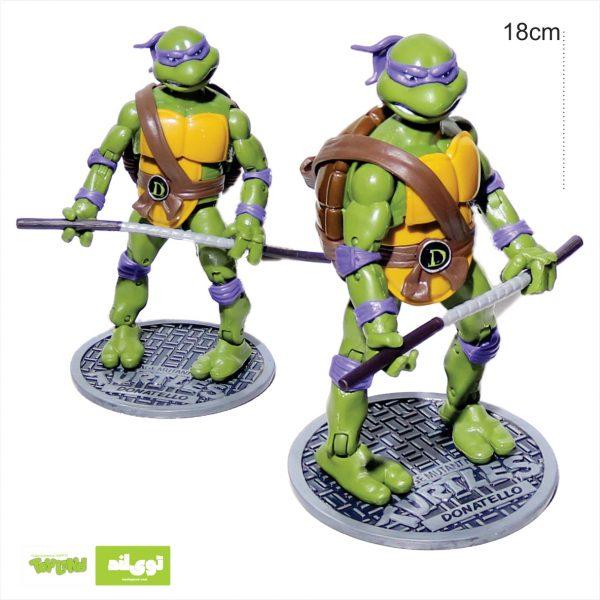 فیگور شخصیت کارتونی لاکپشتهای نینجا دوناتلو donatelo