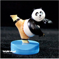 فیگور شخصیت کارتونی پاندا کانگ فو کار