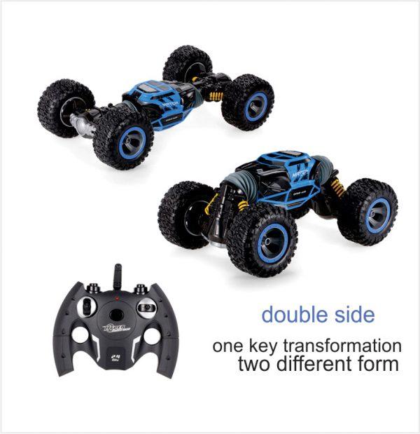 اسباب بازی کنترلی ماشین آفرود دو حالته